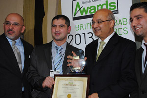British Kebab Awards 2013